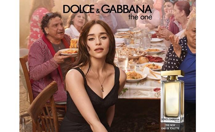 D&G: Νέα καμπάνια με την Emilia Clarke