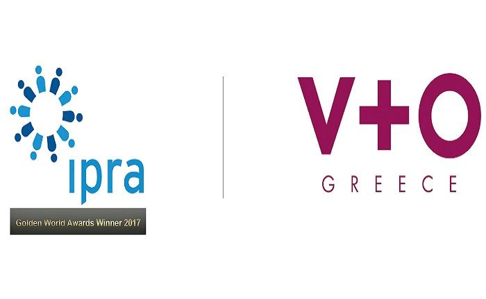 IPRA Golden World Award για την V+O Communication
