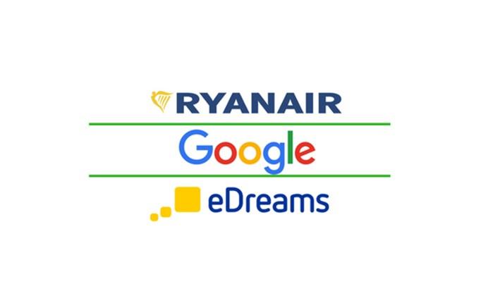 Ryanair: Διακανονισμός με Google και eDreams