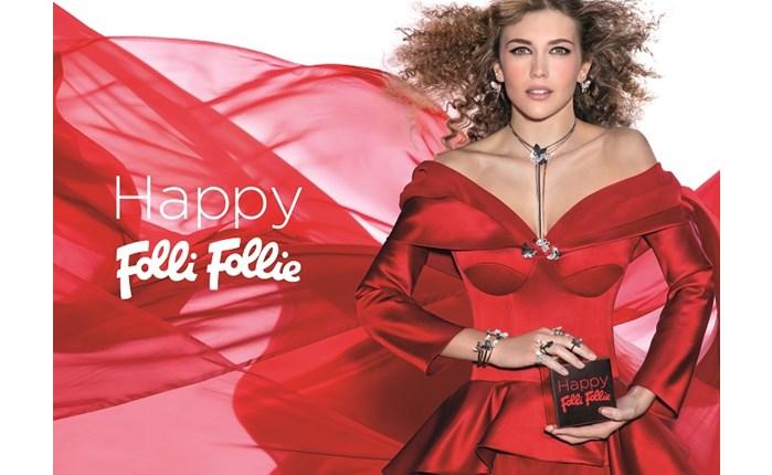 Folli Follie: Νέα εορταστική καμπάνια «Happy Folli Follie»