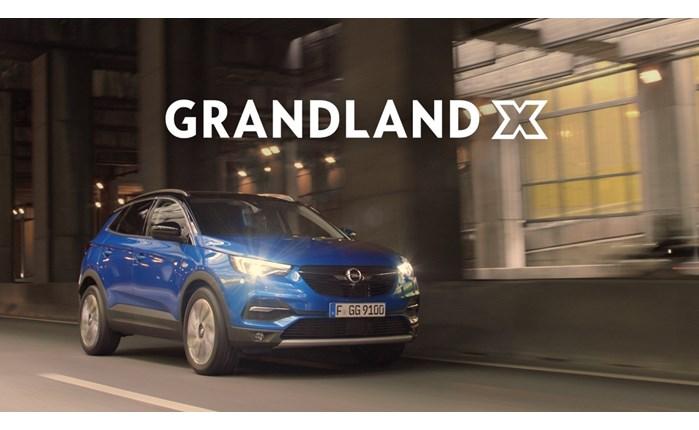 Opel: Διαφήμιση για το νέο Opel Grandland X