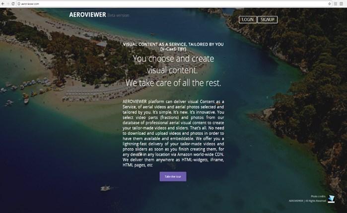 Geotag Aeroview: Λανσάρει νέα πλατφόρμα διανομής οπτικού περιεχομένου