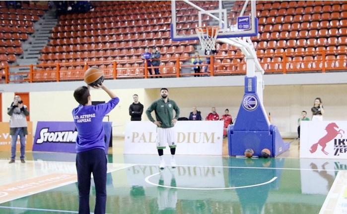 Stoiximan: To Basket αγάπης ταξίδεψε στη Λάρισα