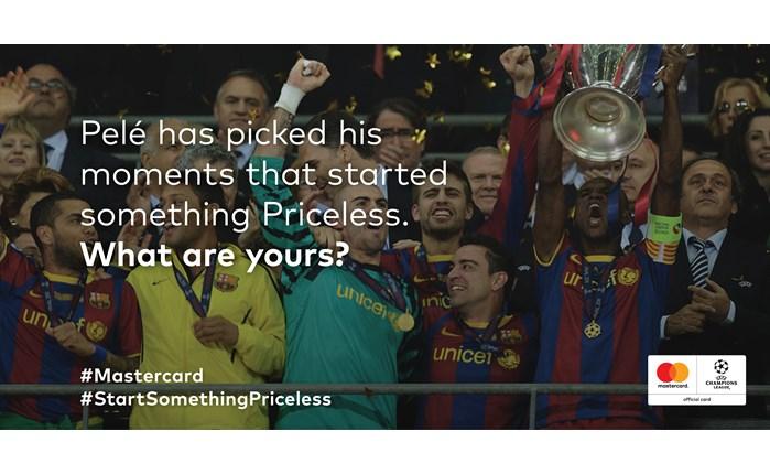 #StartSomethingPriceless: Η καμπάνια που ενώνει Mastercard και Pelé