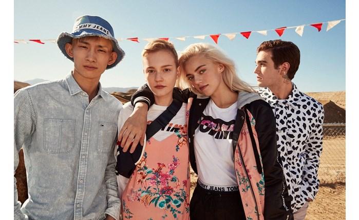 Η Tommy Hilfiger παρουσιάζει την καμπάνια Tommy Jeans για την Άνοιξη 2018