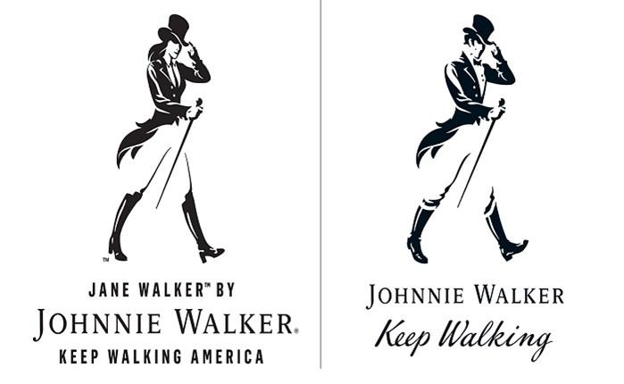 Johnnie Walker: Λανσάρει λογότυπο με θηλυκή μορφή