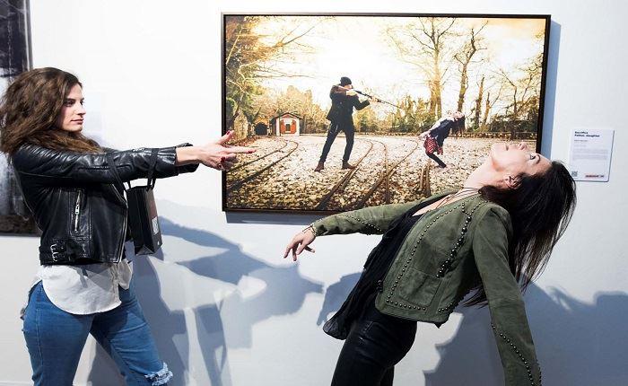 Επιτυχή τα εγκαίνια της έκθεσης The Walking Dead Art