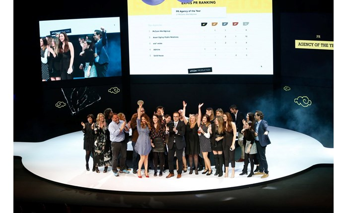 Weber Shandwick: PR Agency of the Year  στα Ermis Awards 2017
