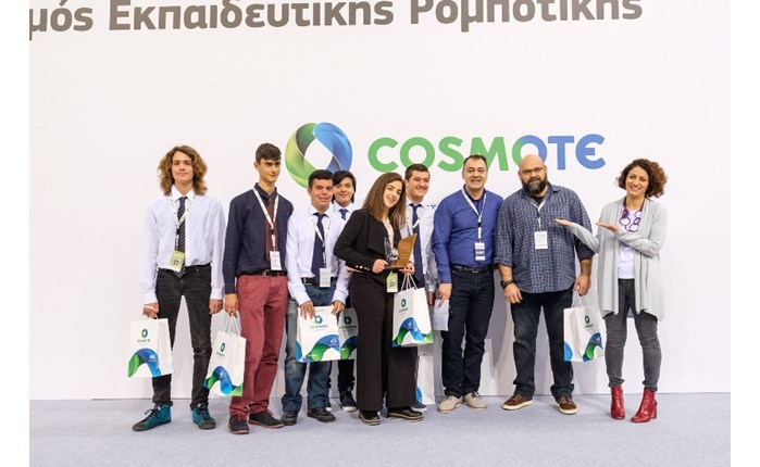 Cosmote: Ολοκληρώθηκε ο διαγωνισμός Ρομποτικής του WRO Hellas