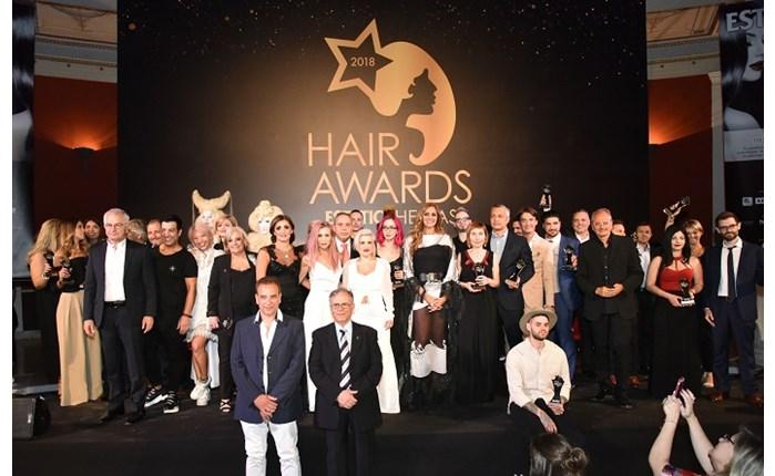 Η μεγάλη βραδιά των Hair Awards 2018 by Estetica Hellas