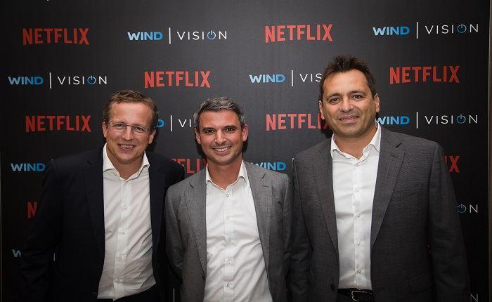 Wind: Στενότερη συνεργασία με το Netflix