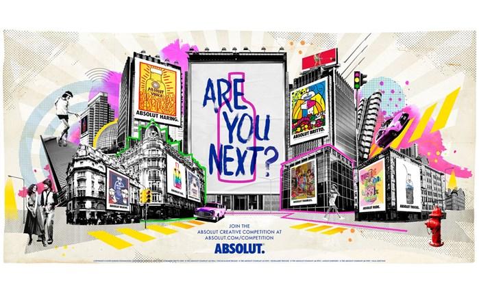 Παγκόσμιος καλλιτεχνικός διαγωνισμός από την Absolut