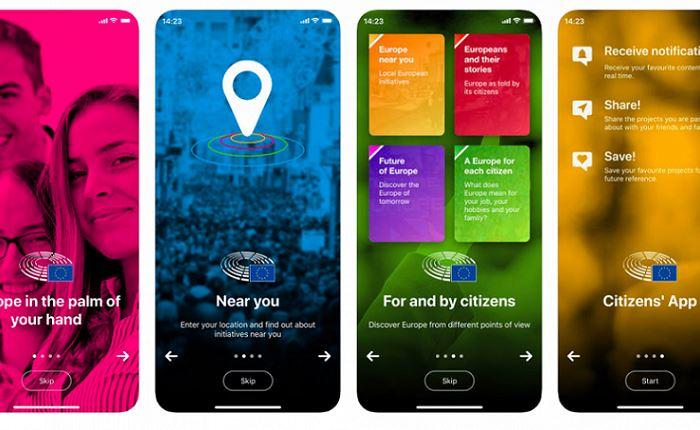 Citizens: Η εφαρμογή που φέρνει την Ευρώπη στο χέρι σας