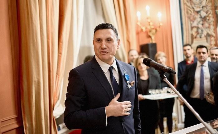Ξεχωριστή τιμή για τον Δανιήλ Φωκά, από τη Γαλλική Δημοκρατία