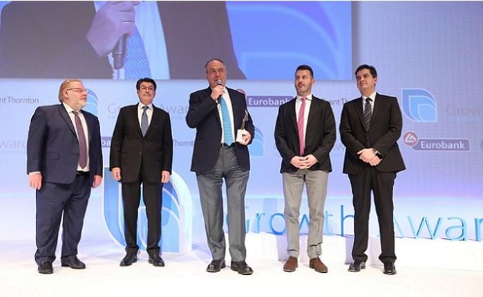Πλαίσιο: Διάκριση στα Growth Awards