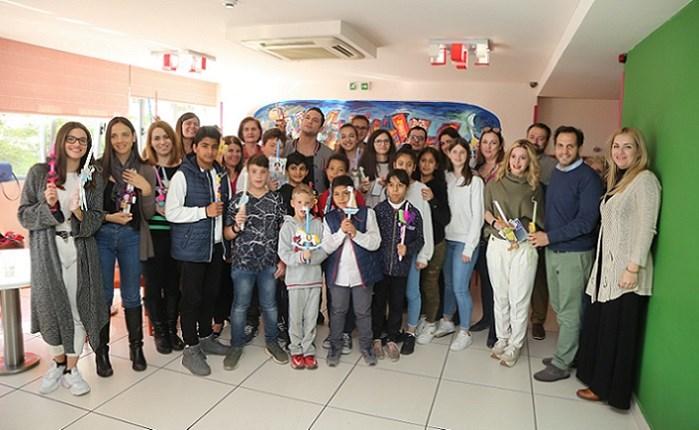 Ο ΑΝΤ1 δίπλα στα παιδιά της Κιβωτού