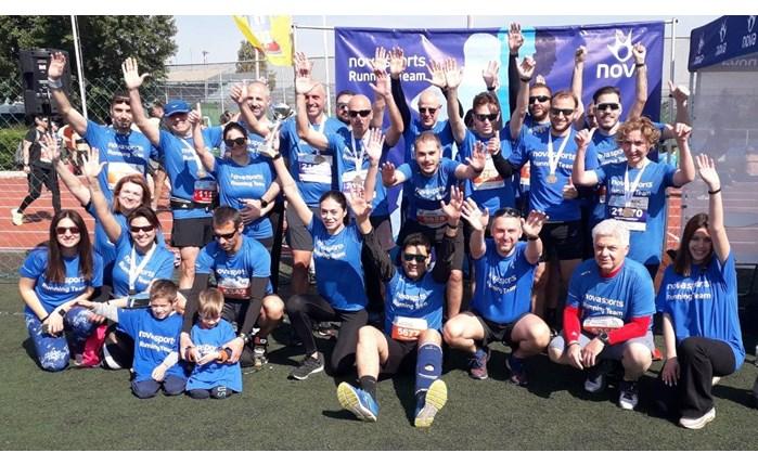 Η Novasports Running Team πρωταγωνιστεί στο δρομικό κίνημα