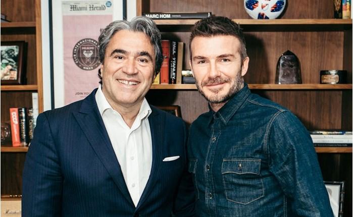 Δεκαετής συμφωνία Safilo-David Beckham