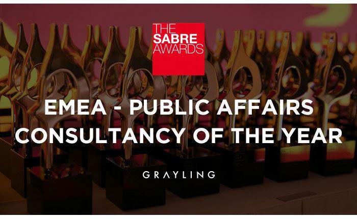 Grayling: Σημαντική διάκριση στα SABRE Awards