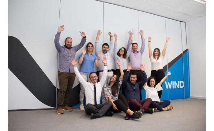 Νέοι ταλαντούχοι εργαζόμενοι στο δυναμικό της WIND
