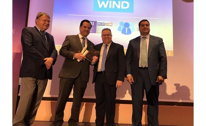 Υψηλές διακρίσεις για την Εταιρική Υπευθυνότητα της WIND