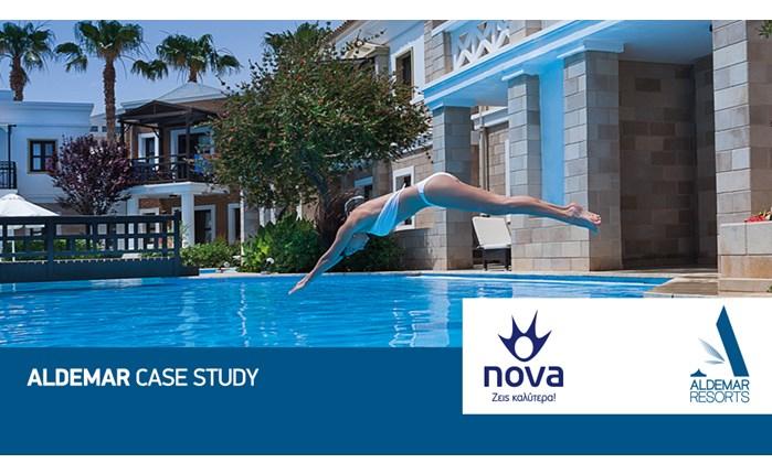 Συνεργασία Nova και Aldemar Resorts