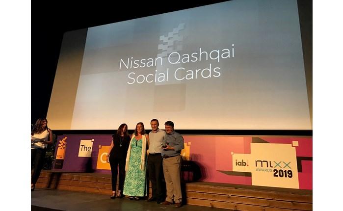 ΙΑΒ ΜIXX Awards: Διάκριση για την καμπάνια του Nissan QASHQAI
