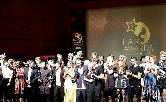 H λαμπρή τελετή των Hair Awards 2019 by Estetica Hellas