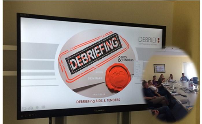 Debrief: Ολοκληρώθηκε το πρώτο εξειδικευμένο σεμινάριο για δημόσιους διαγωνισμούς