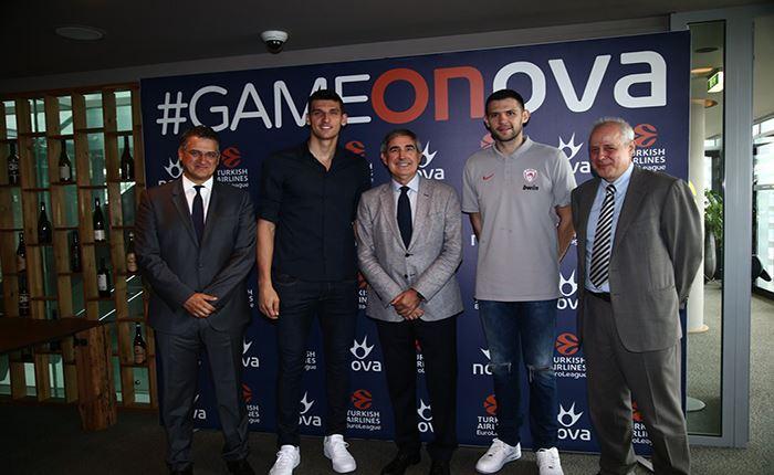 Nova: Η EuroLeague με Ολυμπιακό και Παναθηναϊκό ΟΠΑΠ ΕΙΝΑΙ ΕΔΩ μέχρι το 2023!