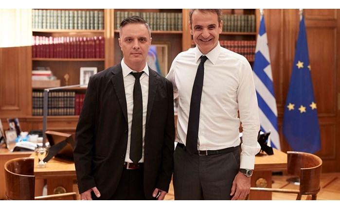 Ο Στηβ Βρανάκης Ειδικός Σύμβουλος του Πρωθυπουργού