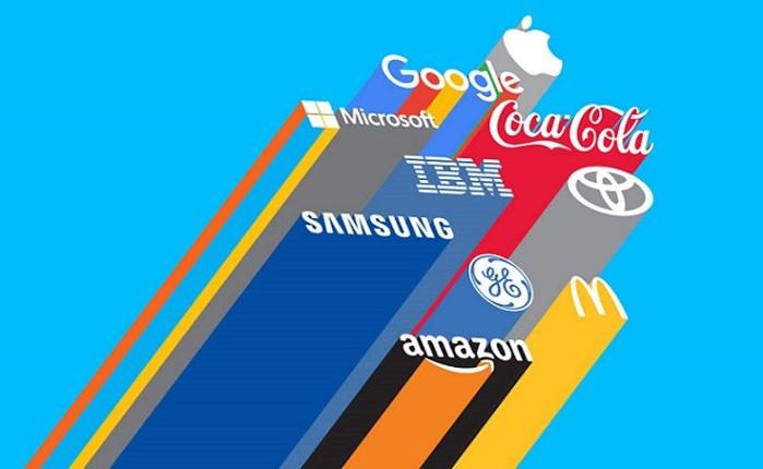 Apple, Google και Amazon τα πιο πολύτιμα brands