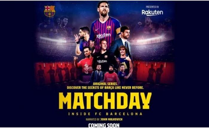Matchday - Inside FC Barcelona από τη Rakuten
