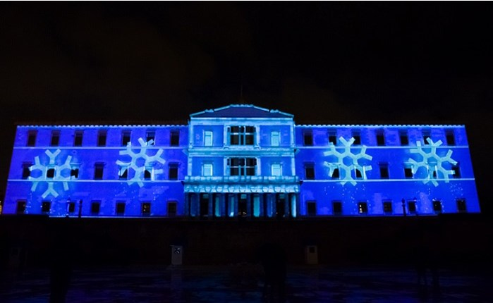 Amuse: Εντυπωσιακό 3D Projection Mapping στη Βουλή