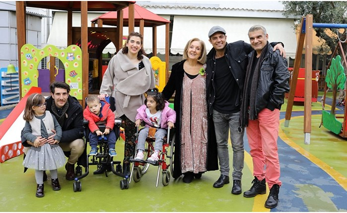 Αγαπημένα πρόσωπα του ΑΝΤ1 βρέθηκαν κοντά στα γενναία παιδιά της ΕΛΕΠΑΠ