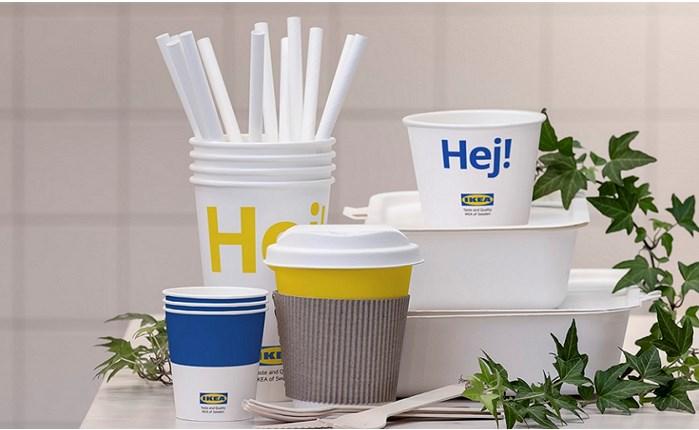 Η IKEA καταργεί τα πλαστικά μιας χρήσης