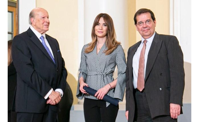 Βραβείο Mπότση από το ΕCI στην Άννα Μπουσδούκου