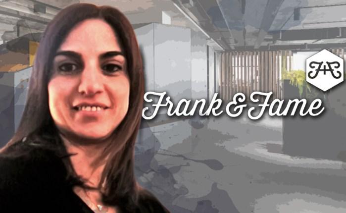 Η Φανή Παπαδοπούλου στην Frank and Fame