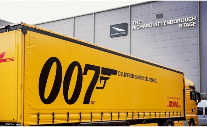 Η DHL στα «backstage» της 25ης ταινίας του James Bond