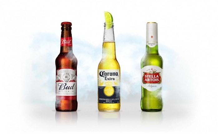 Στην ADMINE οι μπίρες  Stella Artois, Corona & Bud