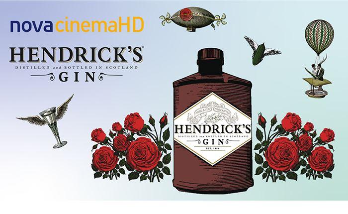 Το Hendrick's Gin στα κανάλια Novacinema