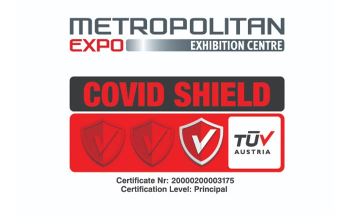 Το Metropolitan Expo απέκτησε από την TUV Austria πιστοποίηση Covid Shield
