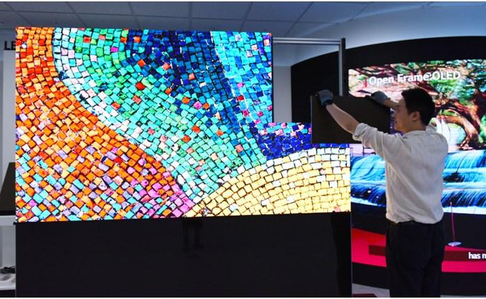 H vέα λύση LED SIGNAGE SCREEN της LG (cable-less) παρέχει αναβαθμισμένη εικόνα