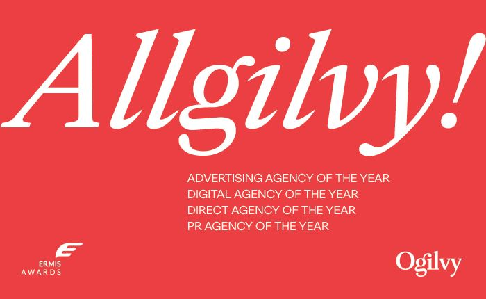 Ogilvy: Ολική επαναφορά στα Ermis Awards