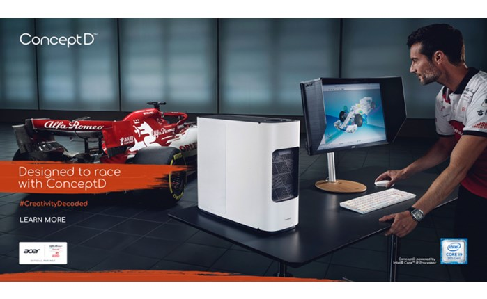 Acer: Η πρώτη marketing campaign της Alfa Romeo Racing ORLEN με τη σειρά ConceptD
