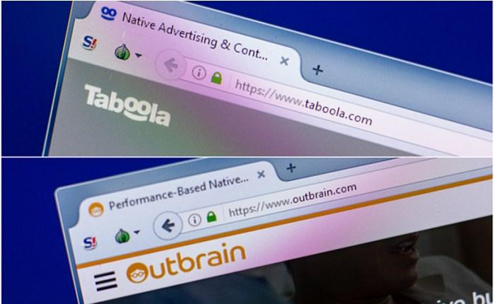Aκυρώθηκε η συγχώνευση των Taboola-Outbrain