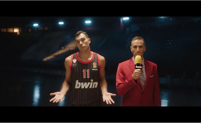 bwin: Νέο τηλεοπτικό spot, με τον Κώστα Σλούκα