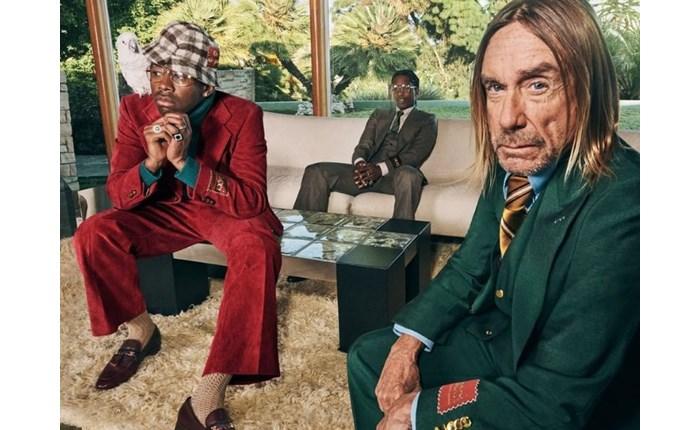 Gucci: Νέο video με Iggy Pop, A$AP Rocky και Tyler