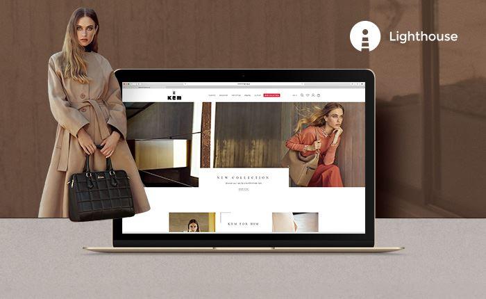 KEM: Επανασχεδιασμός και αναβάθμιση του e-shop από την Lighthouse