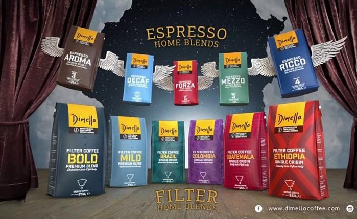 O καφές Dimello στην Soho Square